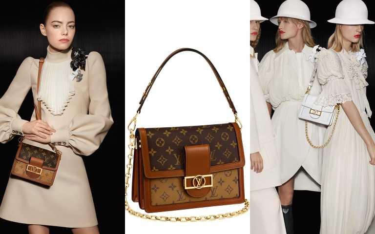 LOUIS VUITTON DAUPHINE手袋/107,000元(圖/品牌提供)
