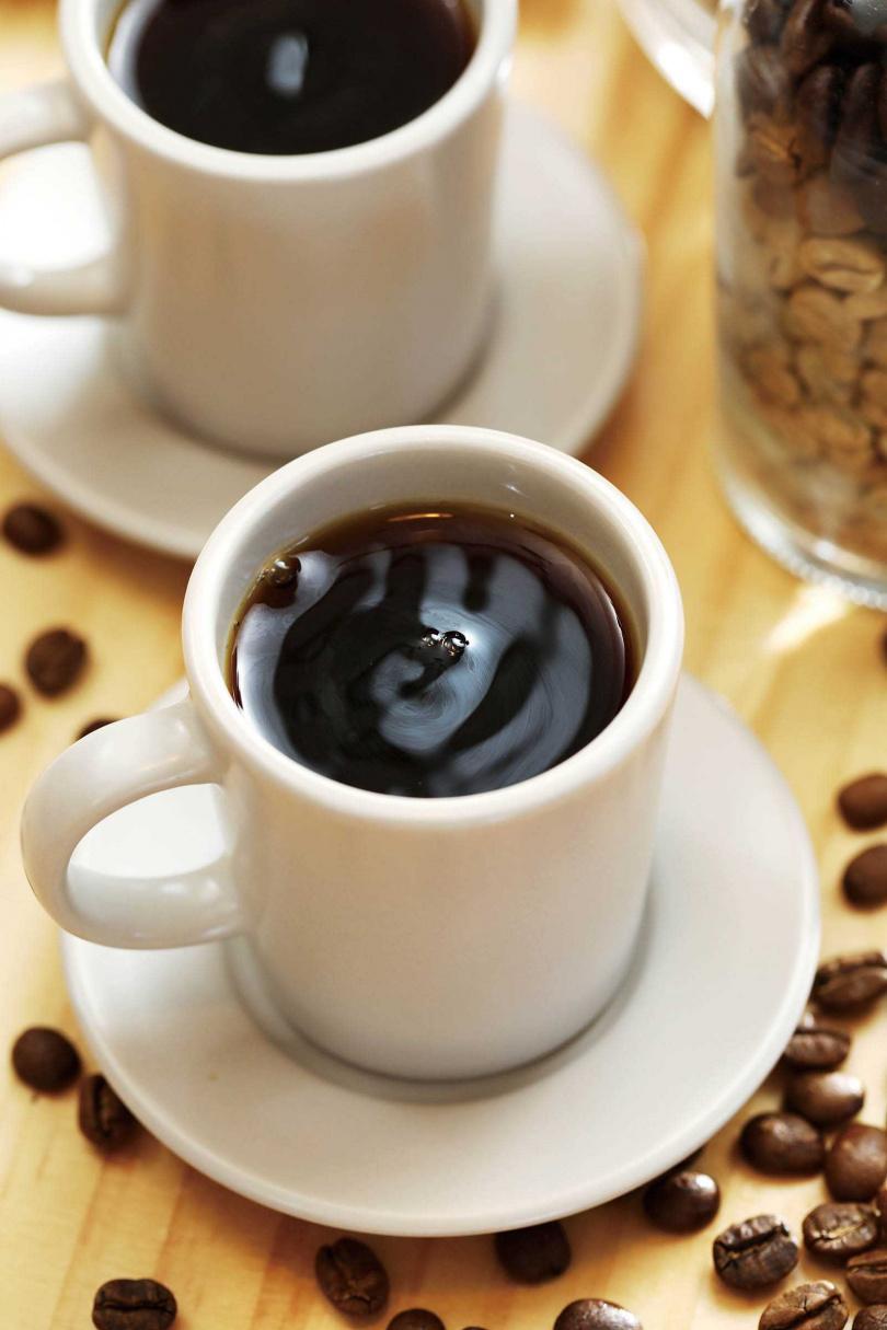 手沖的「電光咖啡」,走的是清爽順口的大眾化路線。(130元/杯)(圖/于魯光攝)