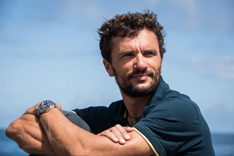 勞力士「極地之下」(Under The Pole)深海探險聯合活動創辦人兼總監,吉斯蘭.巴杜(Ghislain Bardout)。(圖╱ROLEX提供)