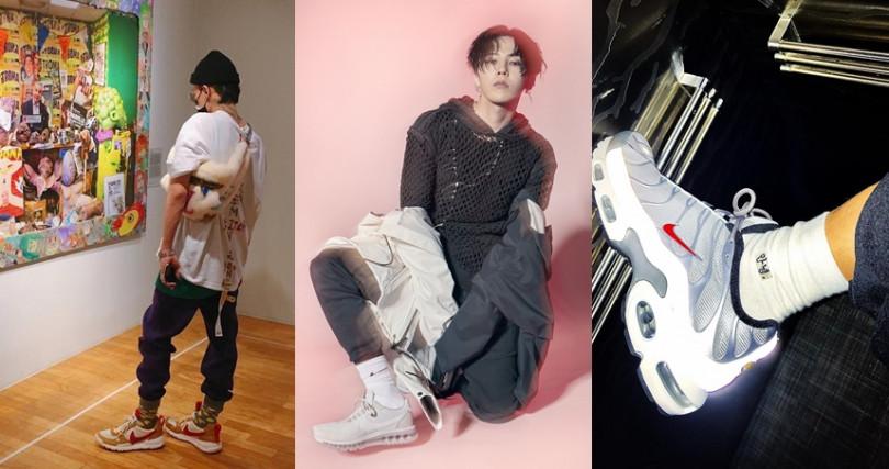 (圖/翻攝自G-Dragon IG、Nike)