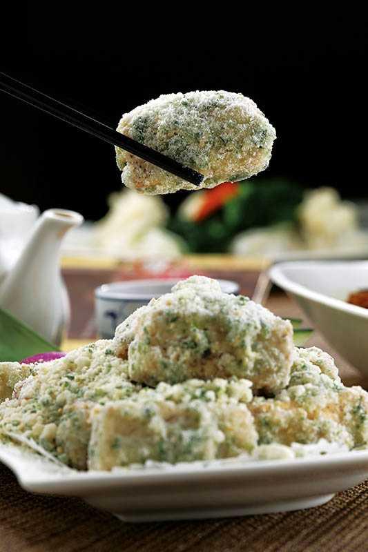 坊間少有人會做的「潮州反沙芋」,是道傳統潮州甜食。(360元)(圖/于魯光)