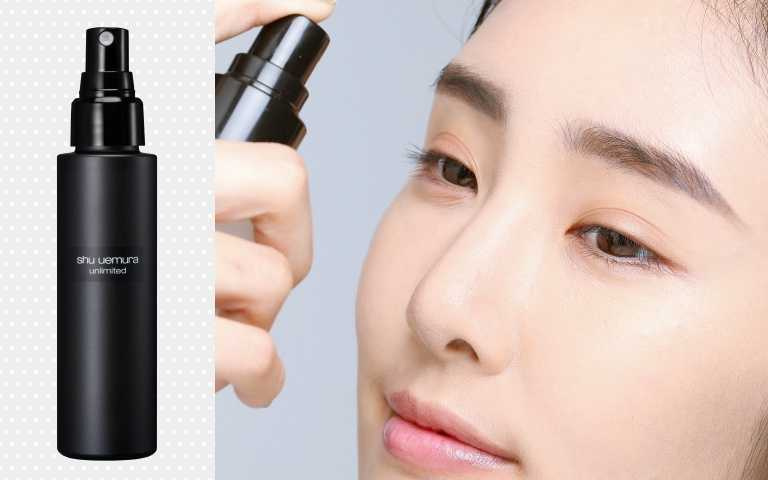 推薦:SHU UEMURA全新無極限持久定妝噴霧100ml/1,100元(圖/戴世平攝、品牌提供)