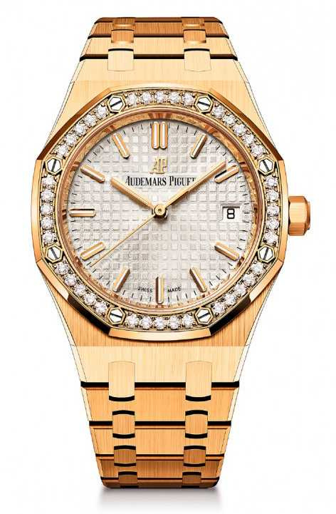 AP「皇家橡樹概念系列」自動上鍊玫瑰金腕錶╱1,452,000元。(圖╱Audemars Piguet提供)