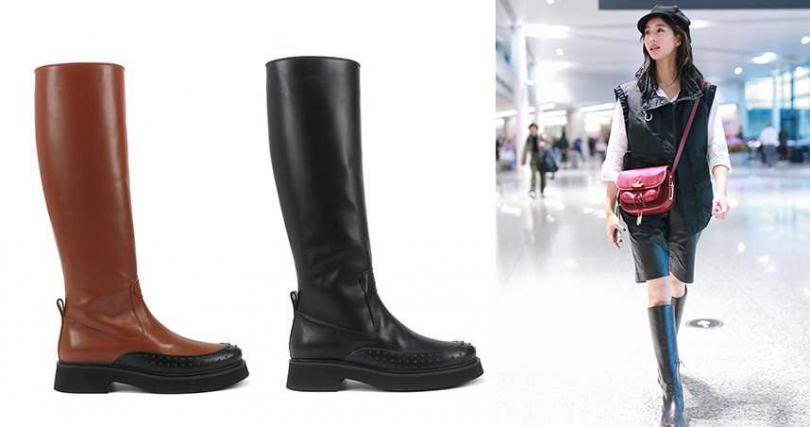TOD'S牛皮豆豆長靴NT50,900。(圖/TOD'S提供)