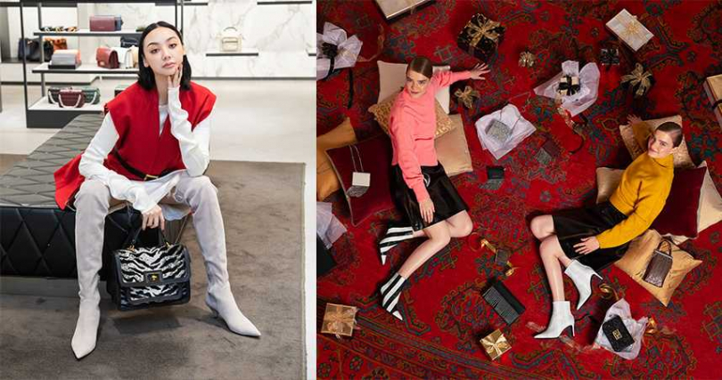 今年不管是過膝靴款、短靴款,各式材質的靴子都很流行。(圖/CHARLES&KEITH提供)
