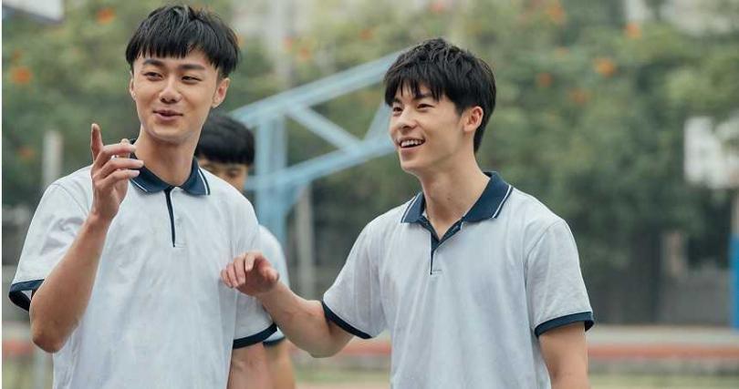 許光漢和施柏宇都愛打籃球。(圖/衛視中文台)