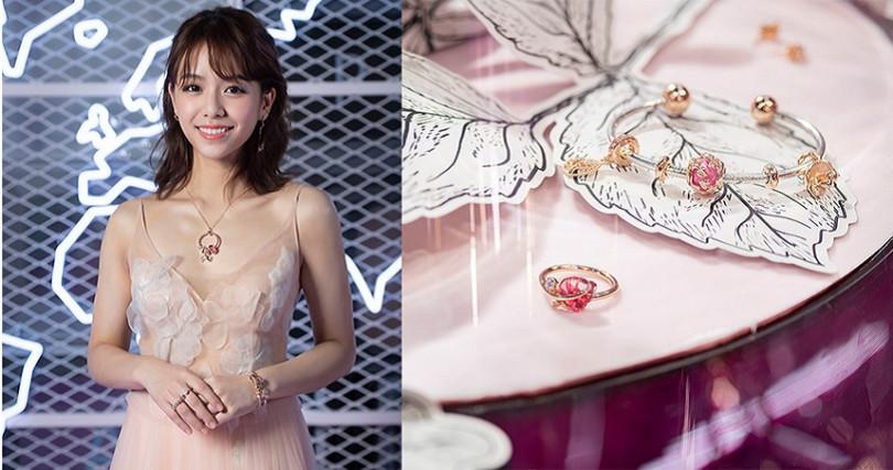 宋芸樺配戴Pandora全新秋季珠寶系列,優雅知性滿滿女人味。(圖/品牌提供)