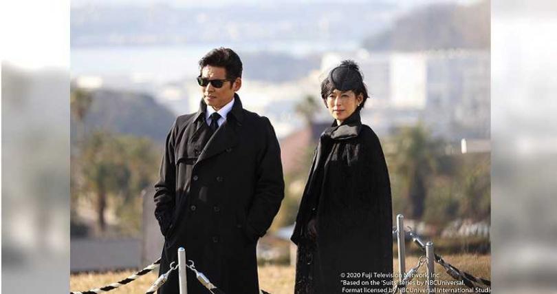 織田裕二與鈴木保奈美雙雙續攤第二季。(圖/friDay影音提供)