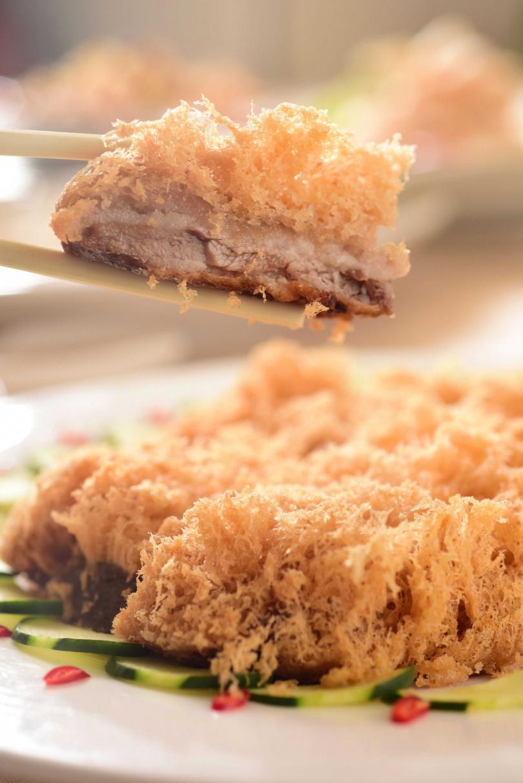 脆皮芋泥鴨。(圖/台北神旺大飯店提供)