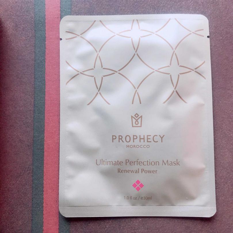 Prophecy Morocco 鉑翡斯完美極萃面膜 賦活能量5 sheets/1,650元(圖/黃筱婷攝影)