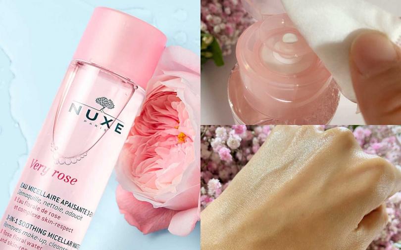 NUXE玫瑰柔舒潔膚水 400ml/990元(圖/品牌提供、吳雅鈴攝)
