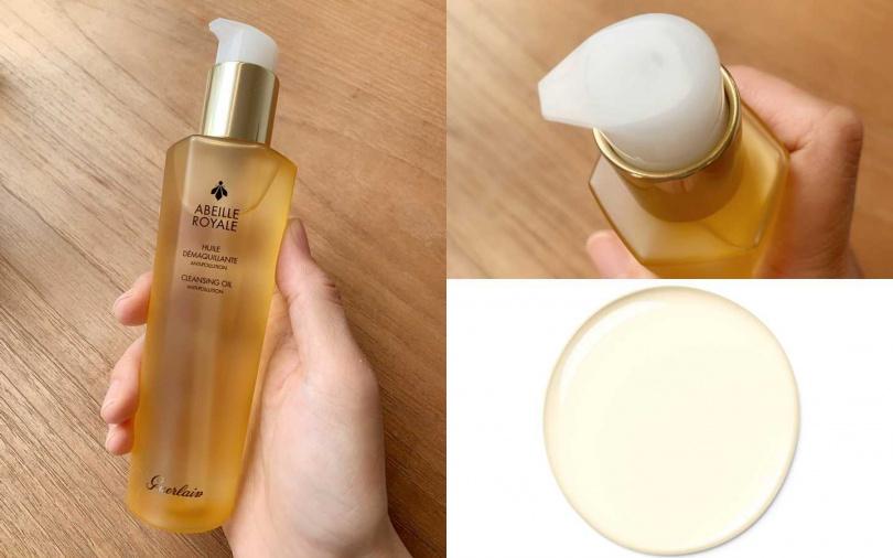 GUERLAIN皇家蜂王乳純淨卸妝油 150ml/2,320元(圖/品牌提供、吳雅鈴攝)