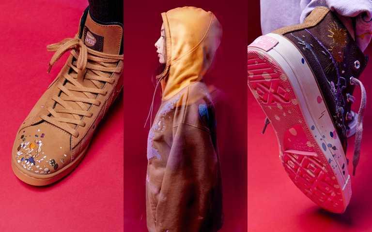 Converse x Bandulu聯名系列將於2月6日於指定店點陸續開始販售,Pro Leather與Chuck 70建議售價皆為NT3,780。(圖/Converse)