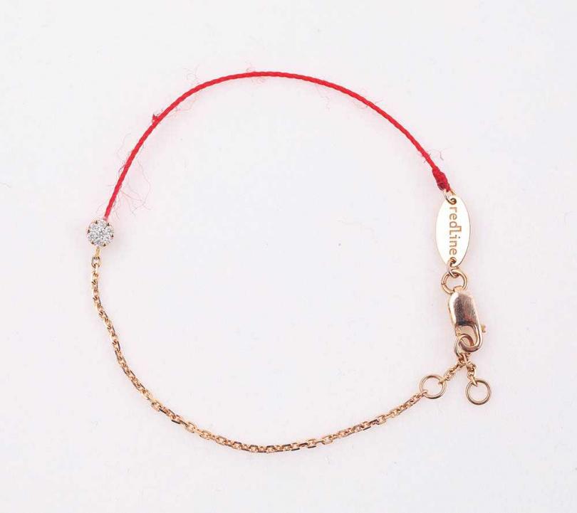 redLine Absolu圓形鑽石手鍊/約20,000元 (閨密贈送)(攝影/戴世平)
