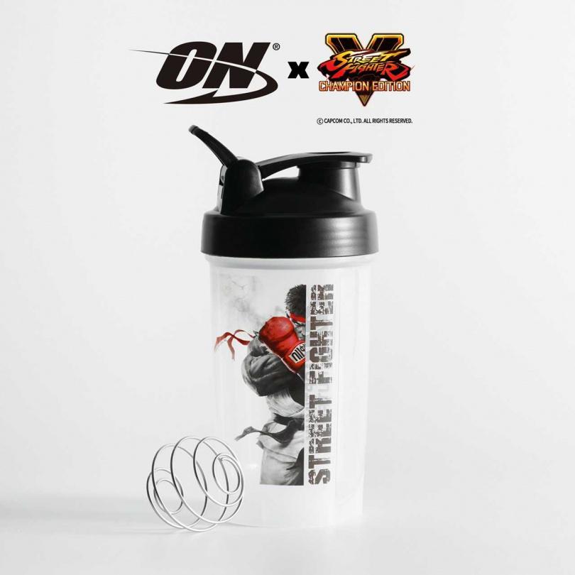 美國 ON x Street Fighter《快打旋風》聯名款健身搖杯 – RYU 主角限定經典款 限量發售中!