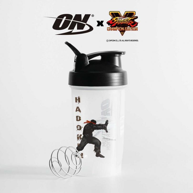 美國 ON x Street Fighter《快打旋風》聯名款健身搖杯 – HADOKEN 波動拳 格鬥街機電玩風格 限量發售中!