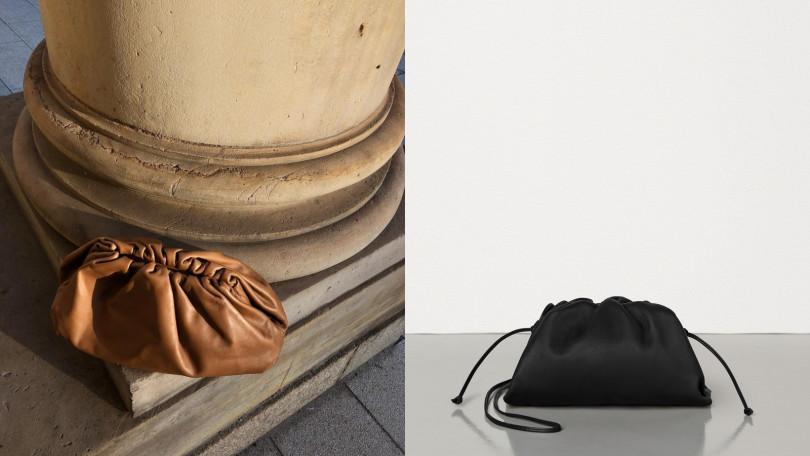 柔軟蓬鬆的外型又被暱稱為「雲朵包」。(圖/左:翻攝自IG @styleshiver、右:品牌提供)