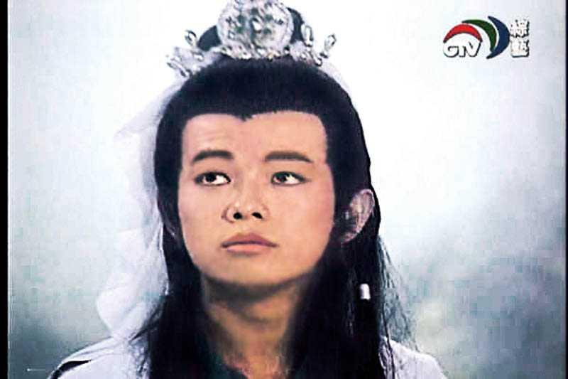 李承泰多年前演出的幻波公子,令人印象深刻。(圖/翻攝自網路)