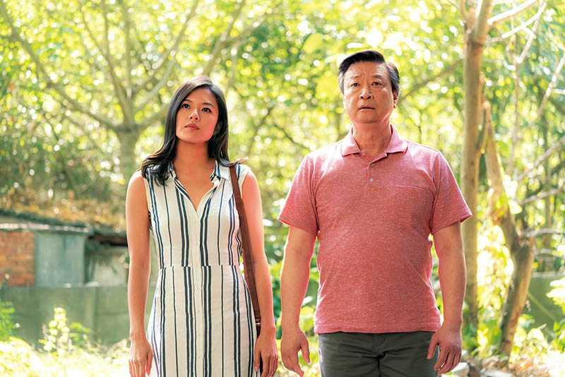 馬泰與高凌風之女葛曉潔,在片中詮釋父女從誤解到和解的歷程。(圖/Netflix提供)