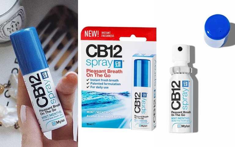 CB12 Spray口腔淨味噴霧 15ml/290元(圖/品牌提供、IG@into.trends)