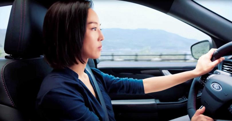 台灣知名女星張鈞甯,為KUGA演出微電影,短短幾天之內,點閱率破十五萬人次。(圖/翻攝自網路)