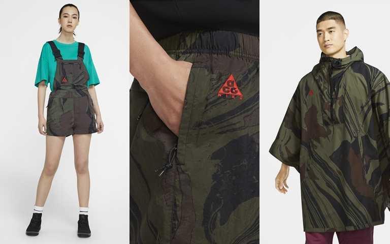 Nike ACG秋季服裝系列陸續透過Nike.com和指定零售店點販售。(圖/Nike)