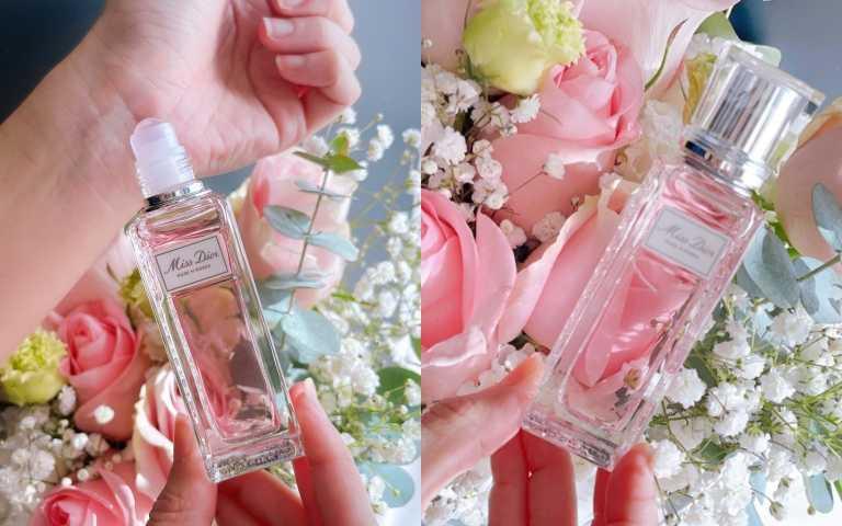 Miss Dior漫舞玫瑰親吻淡香水20ml /1,650元(圖/黃筱婷攝影)