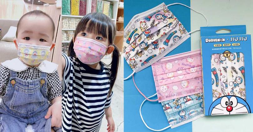 幼幼款:可愛飛翔醫療口罩(黃)、甜蜜星光醫療口罩(粉紅)