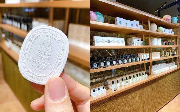 選一個自己喜歡的香味噴在陶瓷片上吧~。(圖/吳雅鈴攝影)