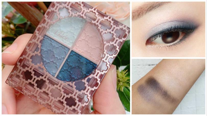 "2020 Pantone年度代表色的""寧靜藍""也出現在眼影盤上了。(圖/品牌提供、吳雅鈴攝影)"