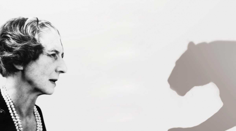 卡地亞藝術總監貞‧杜桑(Jeanne Toussaint),素有「美洲豹女士」之稱。(圖片提供╱Cartier)