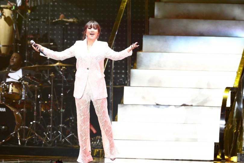 A-Lin身兼演唱會「創意執行長」,將演唱會分成四大段落。