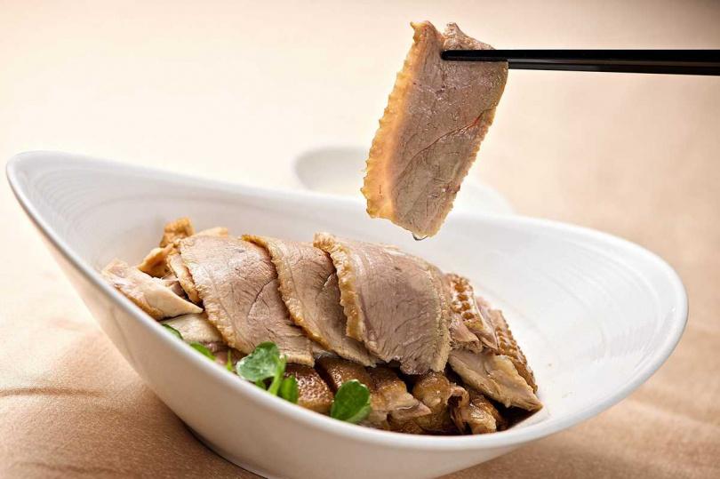 潮州滷鵝片。(圖/台北神旺大飯店提供)