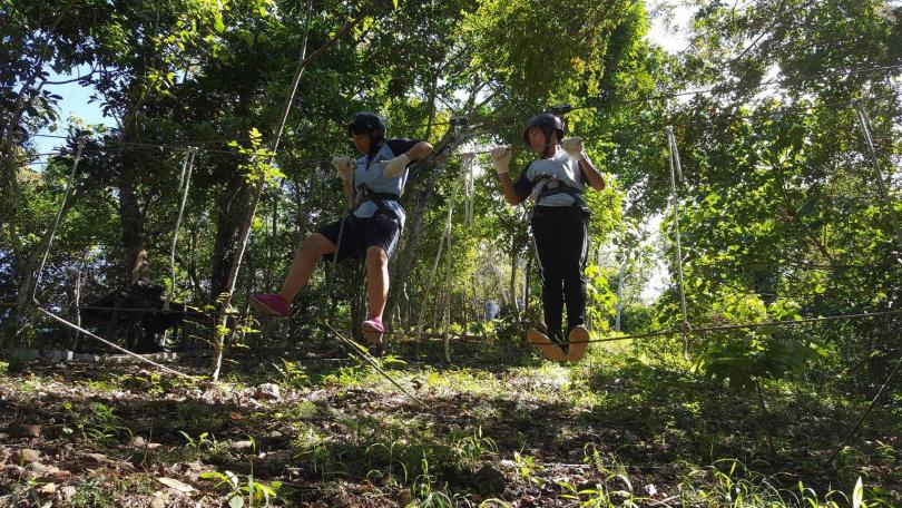 熱愛冒險的人不妨參加花蓮樹頂探險活動。(圖/KLOOK提供)