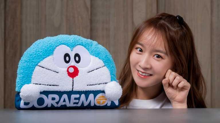 「經典哆啦A夢」款從10月14日開始推出。