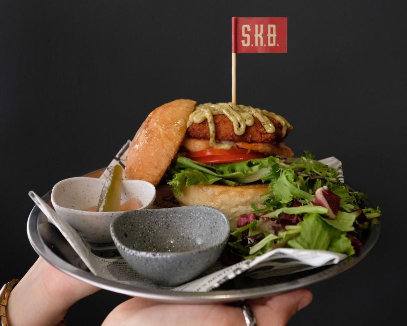 蝦兵蝦餅堡(420元)(圖/SKB)