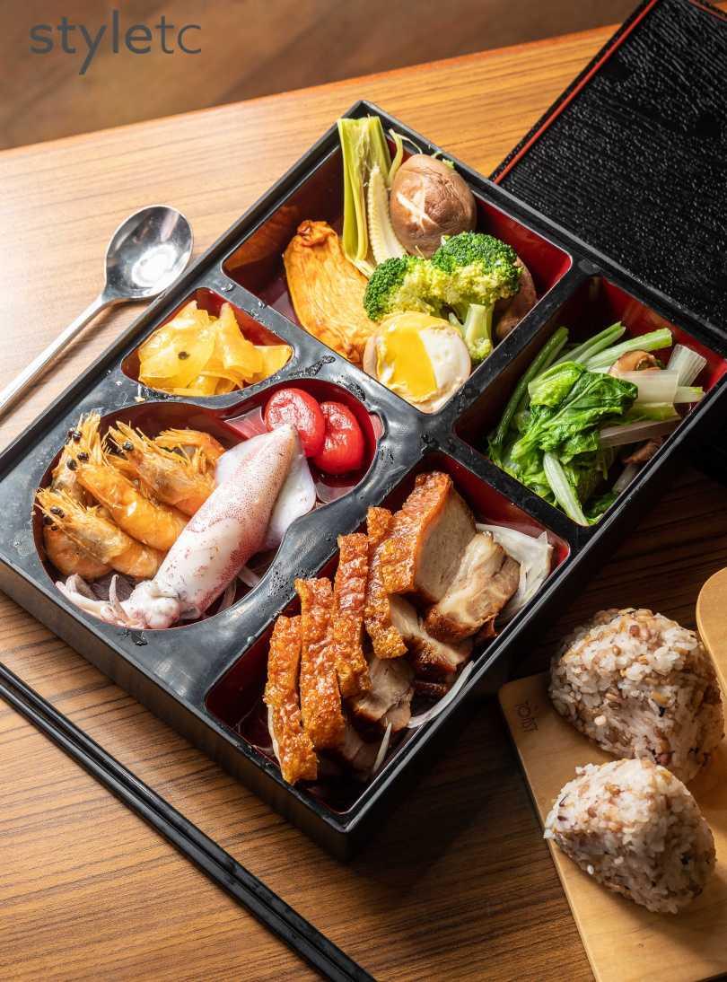 知本金聯世紀酒店晶鑽脆皮餐盒(550元)(圖/焦正德攝)