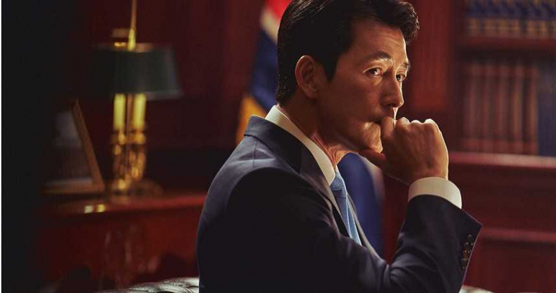 鄭雨盛首度挑戰總統角色,他透露一開始很苦惱是否要接演。(圖/甲上提供)
