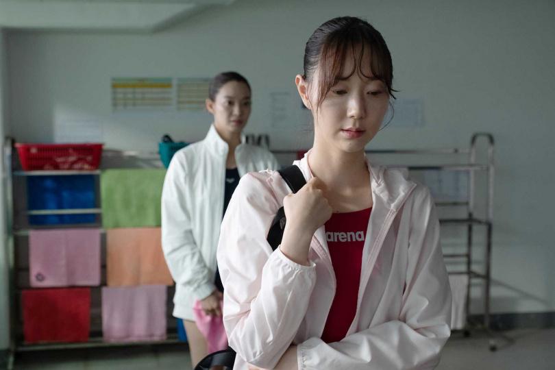 身材削瘦的李裕英,拍攝期間努力增加肌肉量與體重。(圖/采昌國際多媒體提供)
