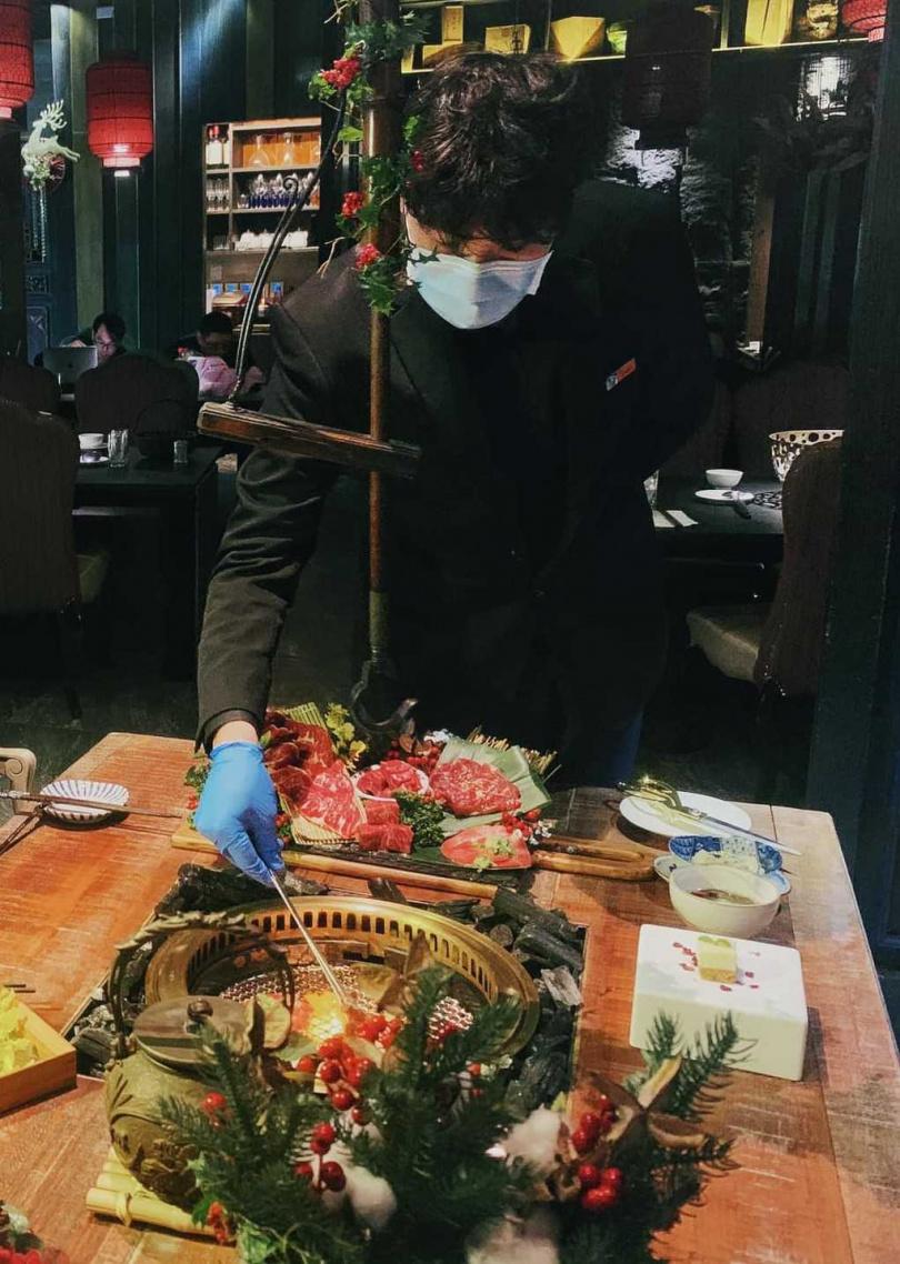 火鍋+燒肉套餐。(圖/寬巷子鍋品提供)