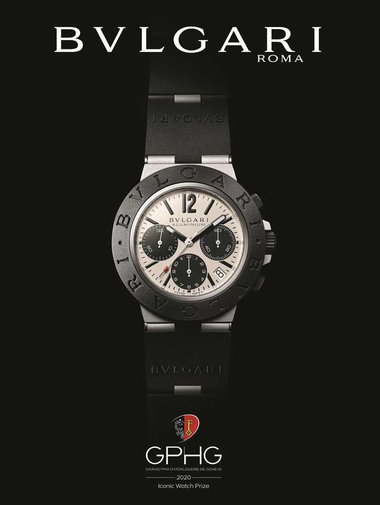 GPHG 2020年度《Iconic Watch Prize》最佳「經典腕錶」獎。(圖╱BVLGARI提供)
