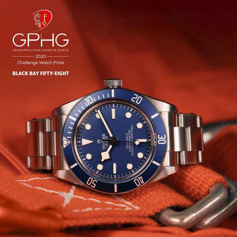 GPHG 2020年度《Challenge Watch Prize》最佳「挑戰」獎。(圖╱TUDOR提供)