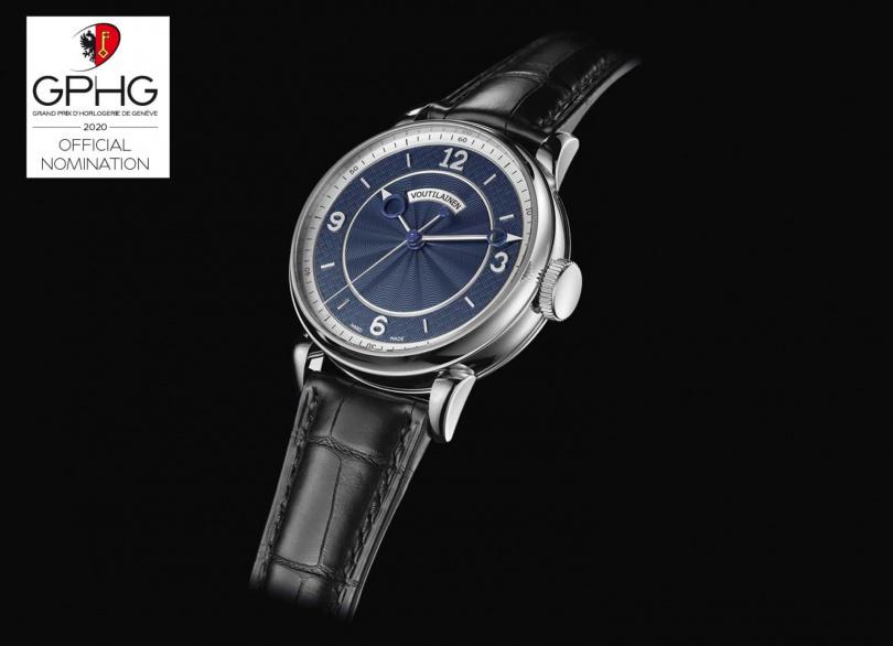 VOUTILAINEN「28SC 」男士腕錶,鈦金屬或精鋼錶殼,38.5 mm╱價格店洽。(圖╱VOUTILAINEN提供)