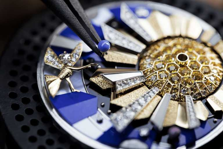 GPHG 2020年度《Artistic Crafts Watch Prize》最佳「工藝腕錶」獎。(圖╱Van Cleef & Arpels提供)