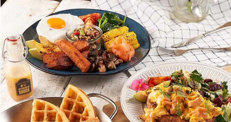 經典的早午餐系列也可以外帶自取88折。(圖/樂子the Diner提供)