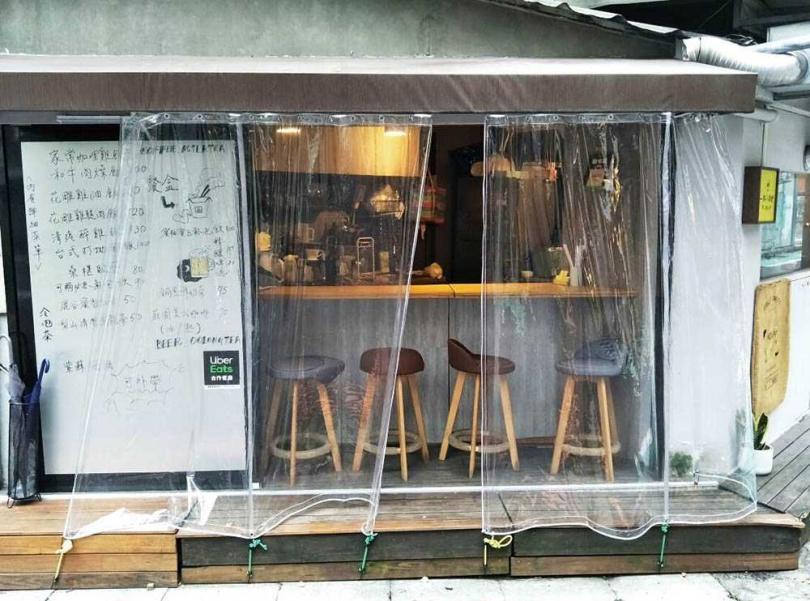 1年多前,惟毅在台北市復興北路開了間小而美的食堂,專賣他的拿手菜,累積了不少熟客。(圖/翻攝自惟毅臉書)