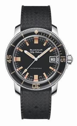 寶珀50噚Barakuda潛水錶 全球限量500只,定價:449,000元
