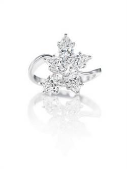 Winston Cluster鑽石戒指