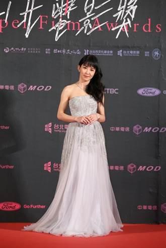 郭書瑤配戴海瑞溫斯頓珠寶出席第二十一屆台北電影節