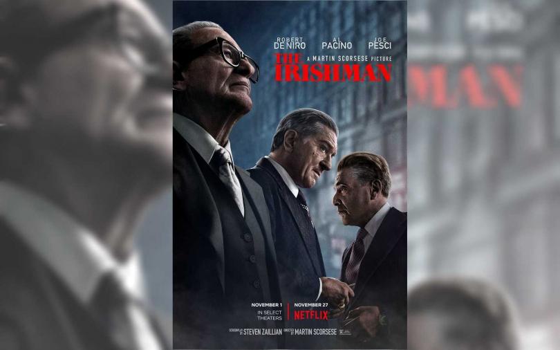《愛爾蘭人》是由馬丁史柯西斯執導的犯罪史詩電影。(圖/翻攝自IMDB)